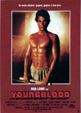 "If you have ever seen the movie ""Youngblood"" (which presents Rob Lowe in his"