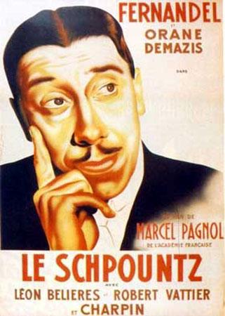 Le Schpountz (1937) affiche
