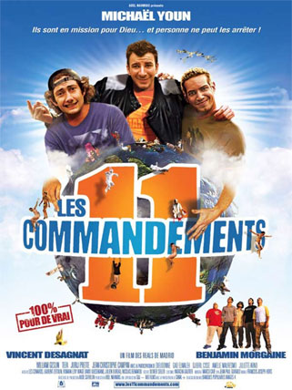 11 Parancsolat (2004), Jackass féle vígjáték