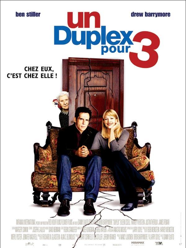 1 duplex pour 3 affiche