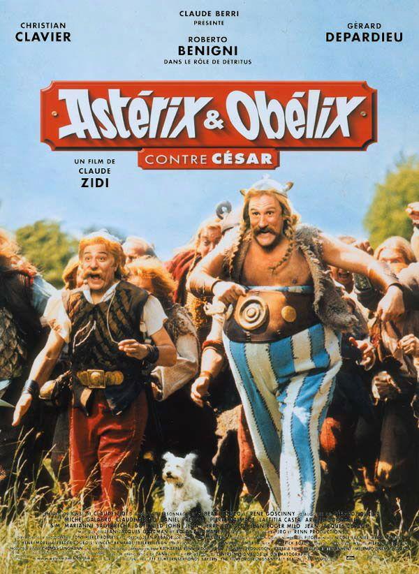 Astérix et Obélix 1 : Astérix et Obélix contre César affiche