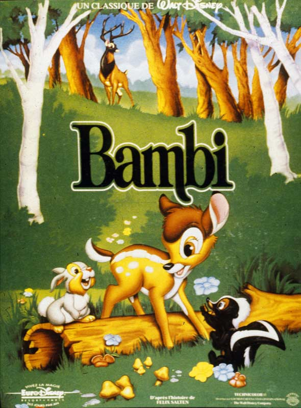 """Résultat de recherche d'images pour """"affiche BAMBI"""""""