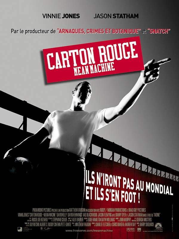 Carton rouge Mean Machine