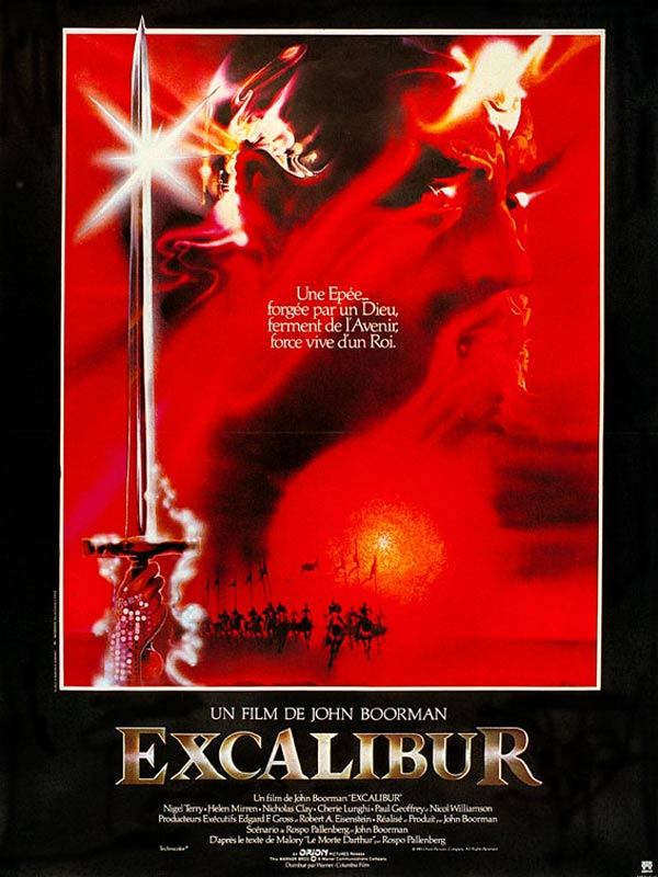 "an analysis of the movie excalibur by john boorman Deliverance is based on james dickey's first novel director john boorman (excalibur boorman: ""like everyone else in this movie."