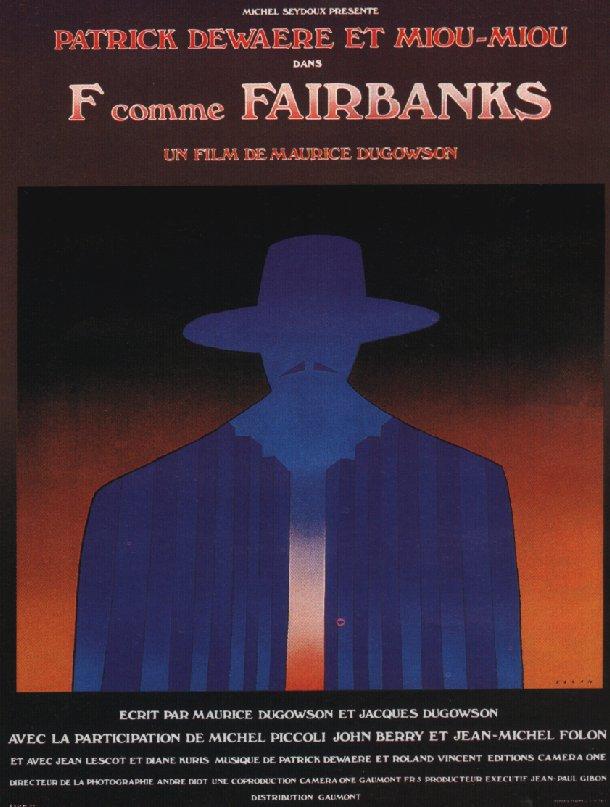 F comme Fairbanks affiche