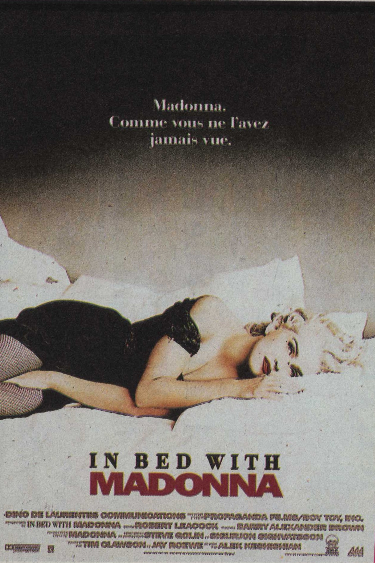 In Bed With Madonna