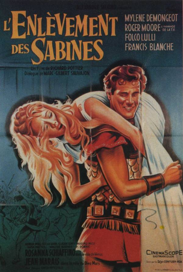 L'Enlèvement des Sabines affiche