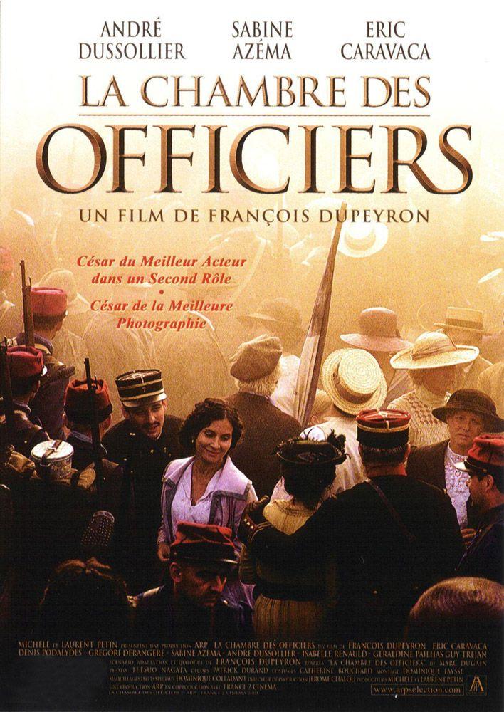 Affiche de la chambre des officiers cinma passion - La chambre des officiers livre ...