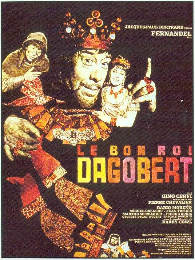 Le bon roi Dagobert movie