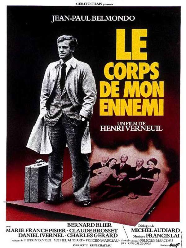 Francis Lai Le Corps De Mon Ennemi Bande Originale Du Film