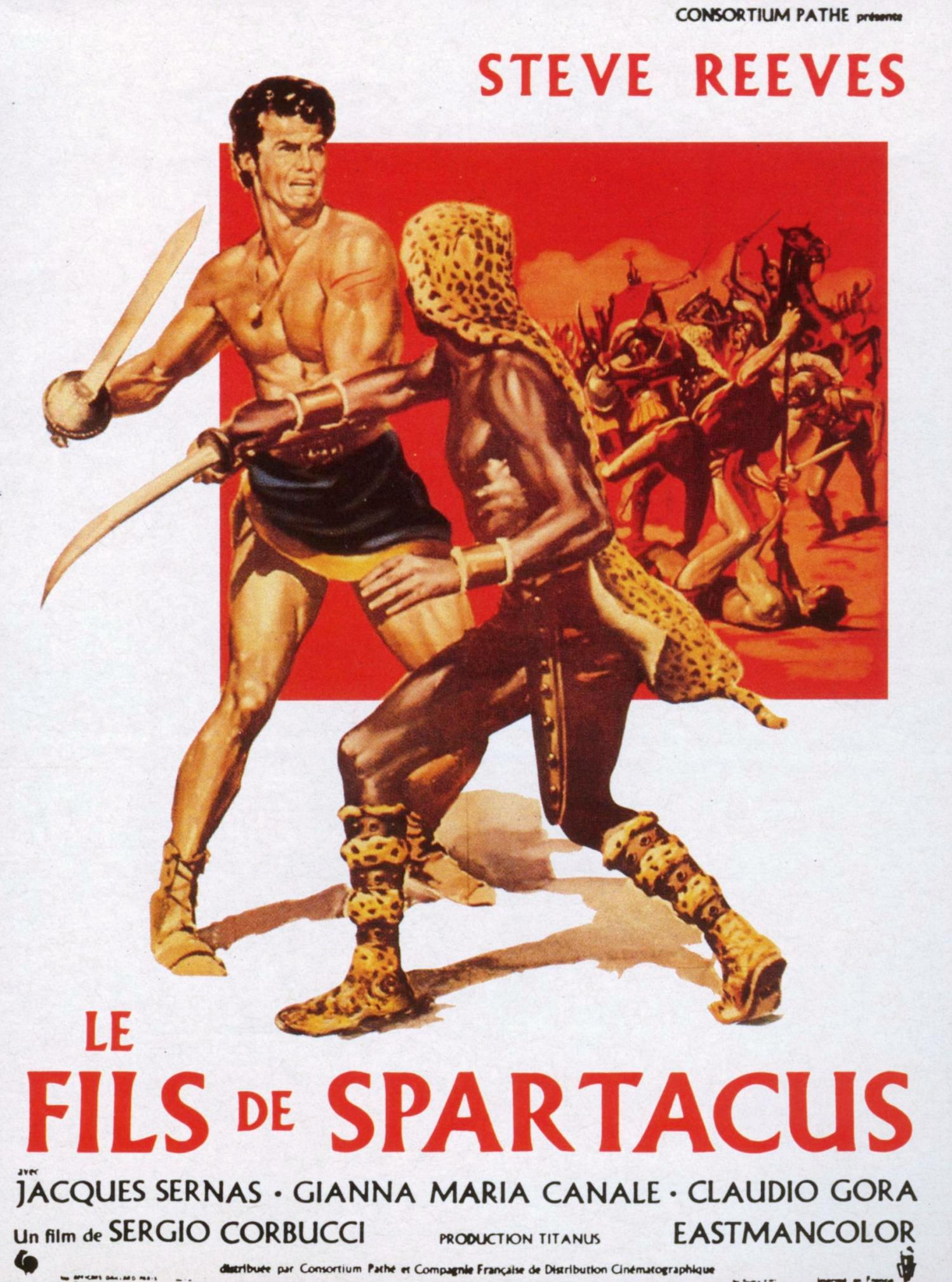 le fils de spartacus de sergio corbucci