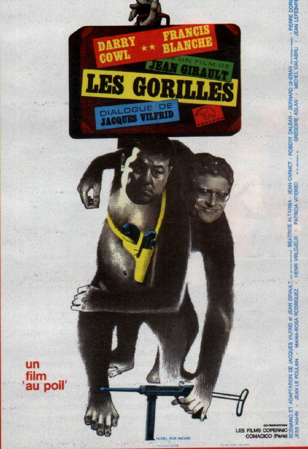 les gorilles de jean girault