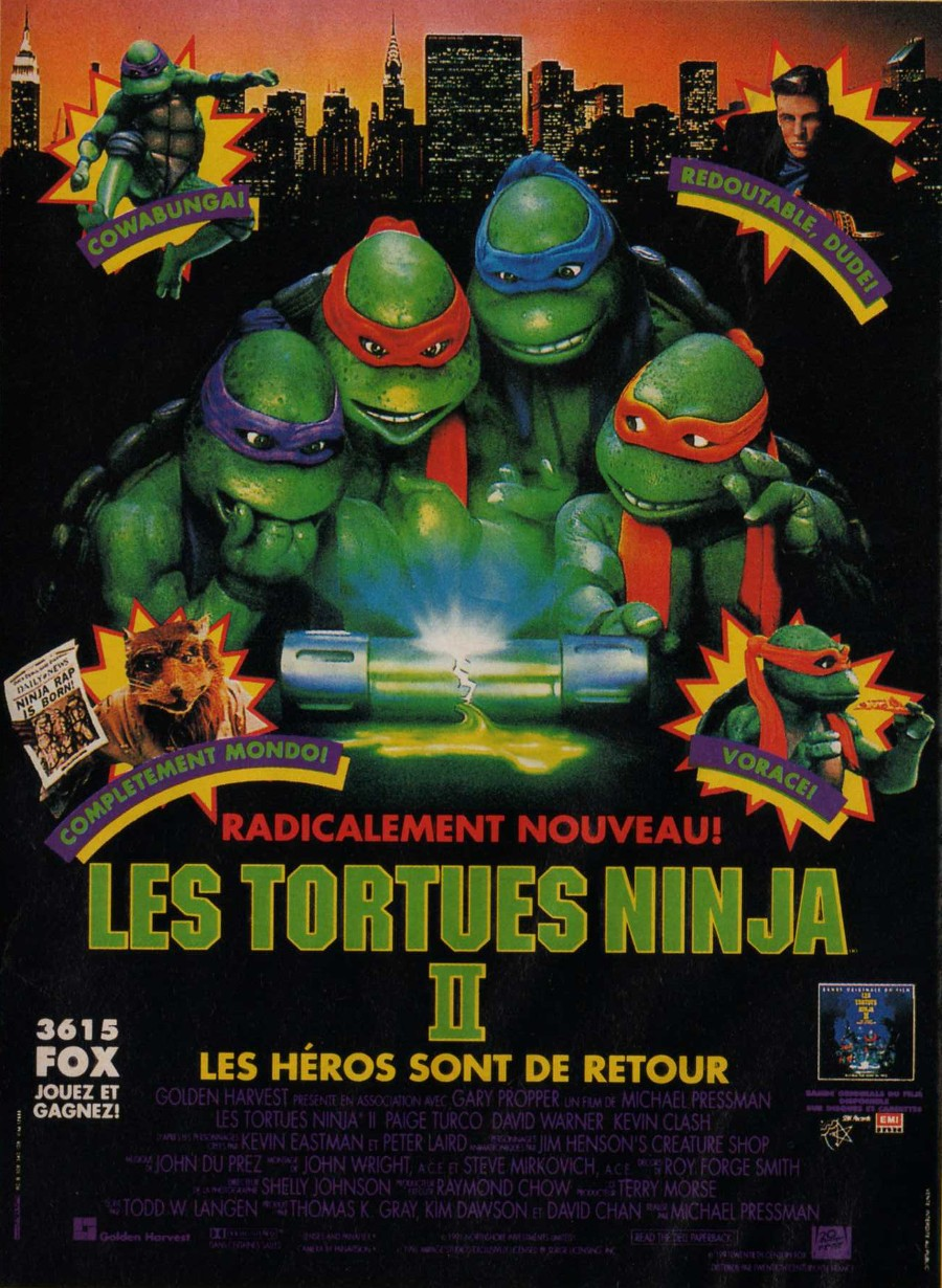 Bande Annonce Les Tortues Ninja 2 Bande Annonce VO