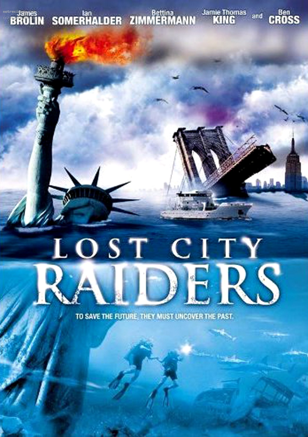 Lost City Raiders : Le secret du monde englouti (TV)