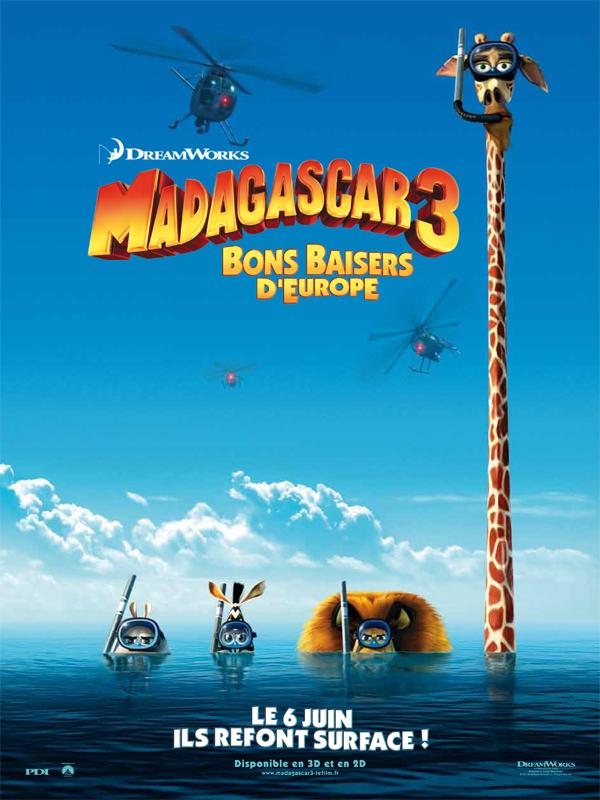 Madagascar 3 Bons Baisers D