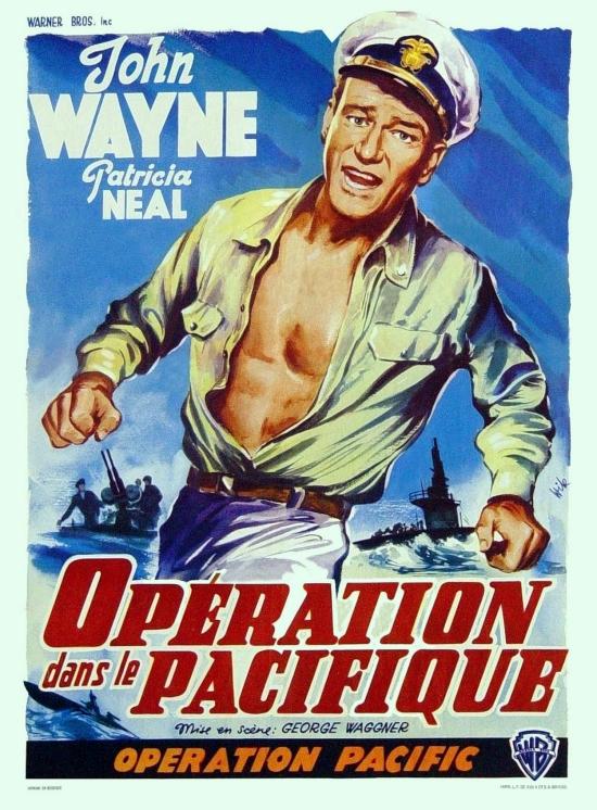 Opération dans le Pacifique