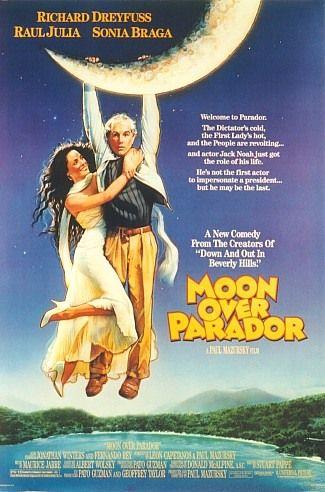 Pleine lune sur Parador