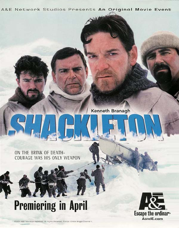 Shackleton, aventurier de l