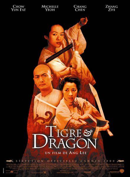 Tigre et dragon affiche