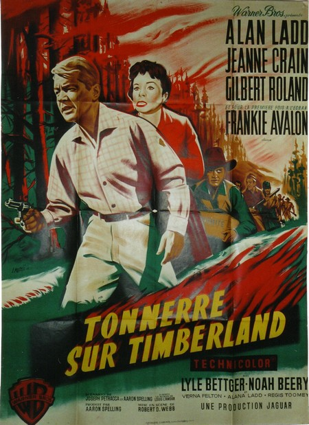 Tonnerre sur Timberland
