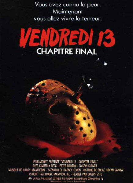Abécédaire des Films Vendredi-13-Chapitre-4-Chapitre-final-affiche-7555