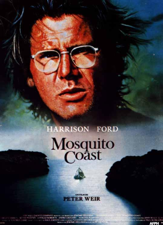 a review of the mosquito coast a film by peter weir Recently i watched peter weir's 1986 film the mosquito coast, starring harrison ford and helen mirren this has always been one of my favorite movies despite the fact that it doesn't have a lot of fans out there weir, an australian director, began making films in america in the early 1980s.