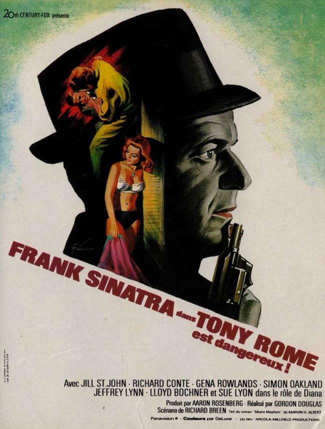 Note du film Tony Rome est dangereux