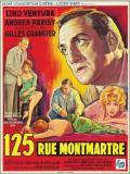 Affiche de 125, rue Montmartre