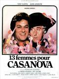 Affiche de Treize femmes pour Casanova