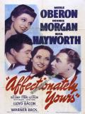 Affiche de Affectionately Yours