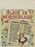 Affiche de Alice au pays des merveilles