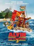 Affiche de Alvin et les Chipmunks 3