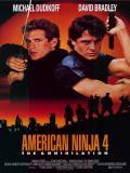Affiche de American ninja 4