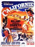 Affiche de Californie terre promise