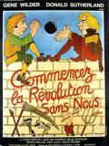 Affiche de Commencez la Revolution sans nous
