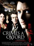 Affiche de Crimes à Oxford