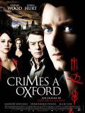 Affiche de Crimes à Oxford