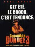 Affiche de Crocodile Dundee III