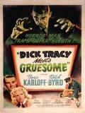 Affiche de Dick Tracy contre le gang