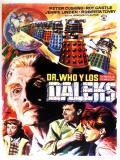 Affiche de Dr Who contre les Daleks