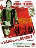 Affiche de Du sang dans le désert