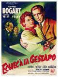 Affiche de Echec à la Gestapo