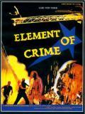 Affiche de Element of crime