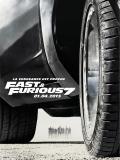 Affiche de Fast & Furious 7