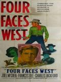 Affiche de Four Faces West