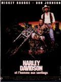 Affiche de Harley Davidson et l