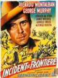 Affiche de Incident de frontière