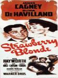 Affiche de La Blonde framboise