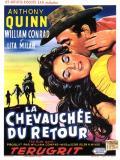 Affiche de La Chevauchée du retour