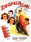 Affiche de La Danseuse des Folies Ziegfeld